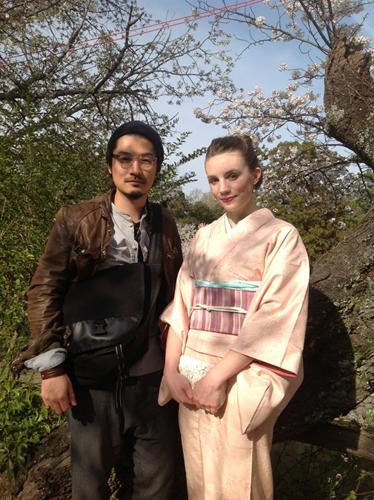Dommage, mon mari n'était pas en kimono, ce sera pour la prochaine fois!