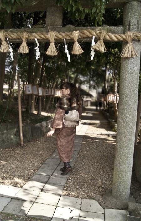 "Le sanctuaire shinto ""Kishi Jinja"""