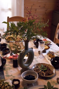 Notre table du nouvel an