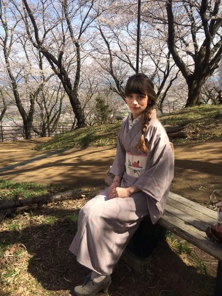 kimono komon