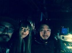 Avant show avec Yui et Furuta-san