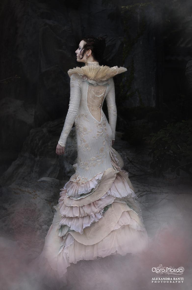 clara maeda, taira no tokiko, mermaid ghost dress