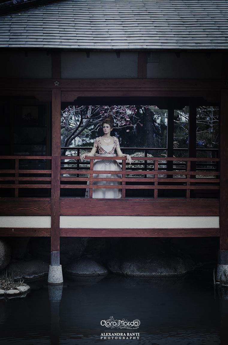 kimono rococo dress, japanese Marie-Antoinette