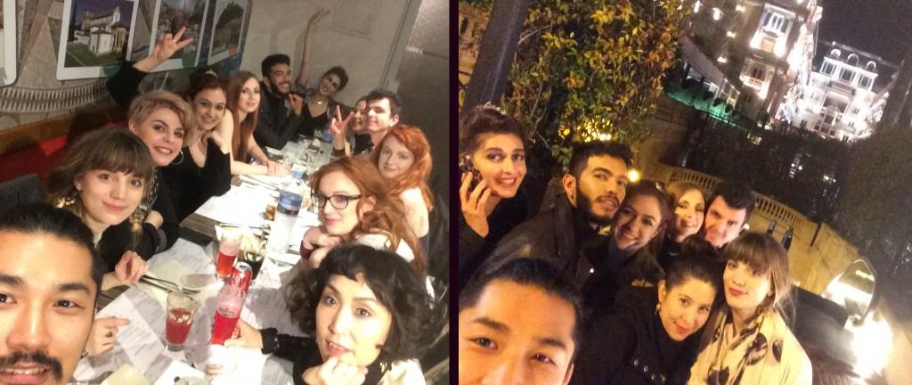 Selfie Portugais puis selfie Monaco/VIPzzz